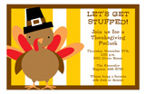 Sweet Turkey Invitation