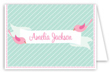 Sweet Tweets Folded Note Card