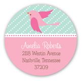 Sweet Tweets Round Sticker