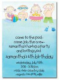 Swim Party Invitation