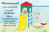 Swing Set Invitation