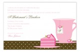 Tea Cake Invitation
