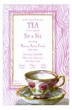 Tea Cup Kitchen Tea Invite
