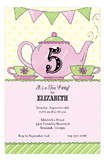 Princess Tea Party Invitations for Girls