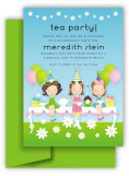 Tea Party Trio Invitation