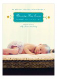 Teal Dotted Border Photo Card
