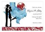 Texas Couple Wedding Save the Dates