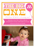 The Big One Photo Invitation
