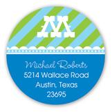 The Blue Big One Round Sticker