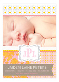 The Perfect Welcome Pale Pink  Photo Card