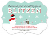 The Word Is Blitzen Bracket Invitation