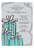 Tiffany Blue Invitation