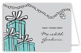 Tiffany Blue Note Card