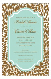 Tiffany Leaves Invitation