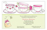 Time for Tea Invitation
