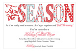 Tis the Seasons Invitation
