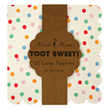 Toot Sweet Spotty Large Napkins