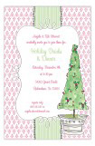 Topiary Holiday Drinks and Dinner Invitations