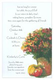 Traditional Fall Invitation