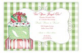 Traditional Gift Boxes Invitation