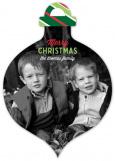 Traditional Keep Calm And Jingle On Ornament Photo Card