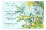 Tropical Foliage Invitation