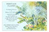 Tropical Foliage Invitation