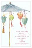 Tropical Lanterns Invitations