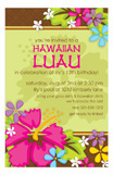 Tropical Luau Flowery Lei Hawaiian