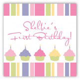 Turning One Soft Pastels Gift Tag