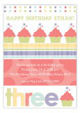 Turning Three Invitation