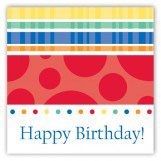 Turning Three Primary Colors Square Sticker