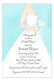 Turquoise Bride Invitation
