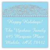 Turquoise Medallion Square Sticker