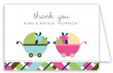 Twin Carriage Gifts Folded Note Card