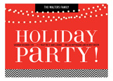 Twinkling Office Party Invitation