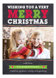 Very Merry Christmas Photo Card