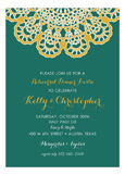 Vintage Lace Fiesta Invitation
