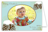 Vintage Pine Cones Folded Photo Card