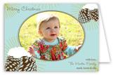 Vintage Pine Cones Folded Photo Card