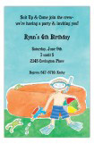 Water Fun Boy Invitation