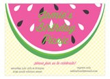 Watermelon Picnic Invitation