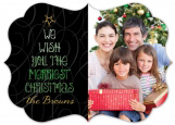We Wish You The Merriest Christmas Photo Card