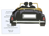 Wedding Car Invitation