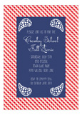 Western Gingham Invitation