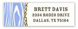 Western Lasso Address Label