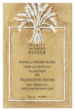 Wheat Sheaf Invitation