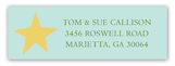 Whimsical Tree Address Label