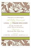 White Magnolia Invitation