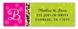 Wild Christmas Cocktails Address Label